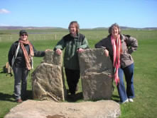 John at the Standing Stones